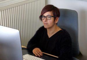 Lisa am PC